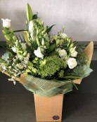 6 Month Flower Subscription - Colour - White & Green